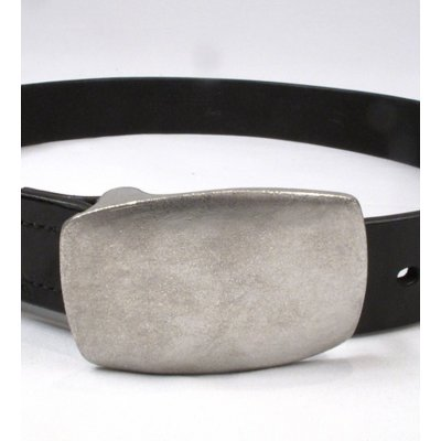Plate Buckle Super-Heavy Duty Cowhide Belt
