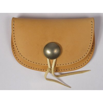 Folding Shoulder Leather Coin Holder