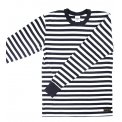 Stripey Border Long Sleeved Tee