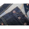 17oz Organic Cotton/Natural Indigo Straight Leg Jean