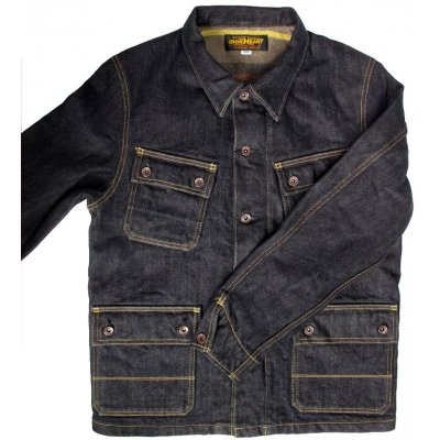 Blanket Lined 21oz Indigo Selvage Denim Jacket