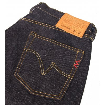 21/23oz Japanese Selvage Indigo Denim Straight Cut Jean