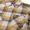 Blue or Yellow Check 5oz Mini-Herringbone Work Shirt