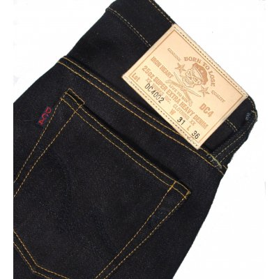 25oz Slimmish Straight Japanese Indigo Selvage Jean