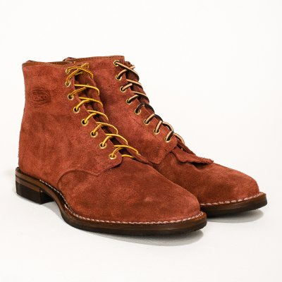 "The Bootery/Wesco® - Garnet Rough-Out ""Foot Patrol"""