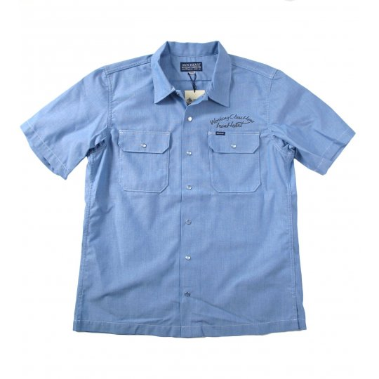 Short Sleeved Chambray Mechanic's Shirt