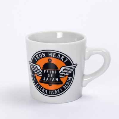 Iron Heart Mug - Bell and Wings Logo
