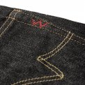 Black 21oz Selvedge Denim Straight Cut