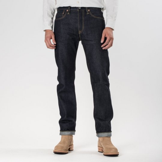 Indigo 14oz Selvedge Raw Denim Slim Cut