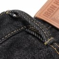 Black 21oz Selvedge Denim Super Slim