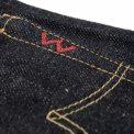 Indigo 18oz Raw Selvedge Denim Slim Tapered