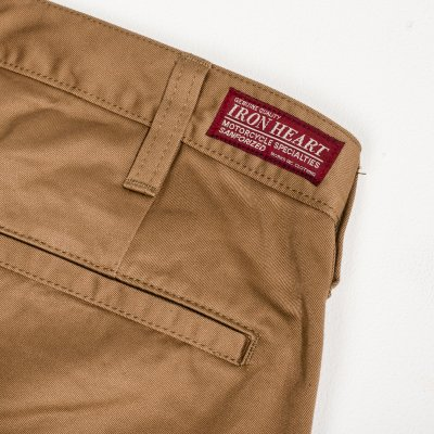 Khaki or Navy Blue Selvedge Cotton Chinos