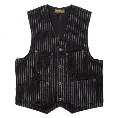 Black Wabash/Black Duck Work Vest