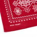 "IH ""Bell"" Print Bandana - Black, Red, Green, Yellow and Blue"