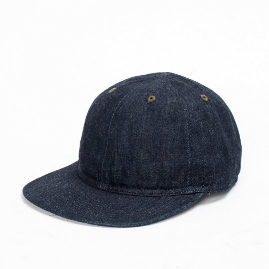 Papa Nui Devastator Cap in Indigo 9oz Denim