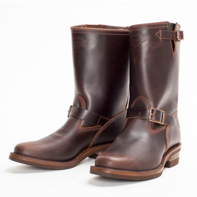 "The Bootery/Wesco® - 1930's 10"" Brown Boss Engineer Boot"