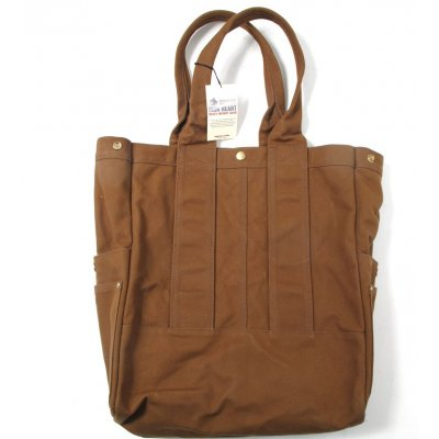 17oz Paraffin Coated Duck Tote Bag - Black or Brown