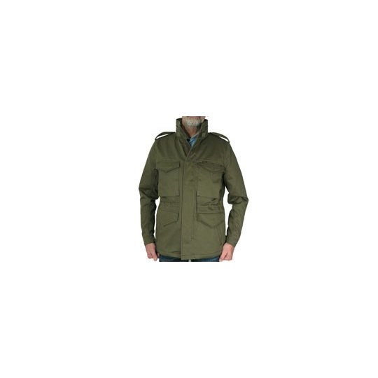 M65 - Ventile Lined Satin Cotton Field Jacket