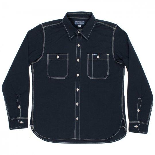 "Navy Blue ""Sailor Cloth"" Work Shirt"
