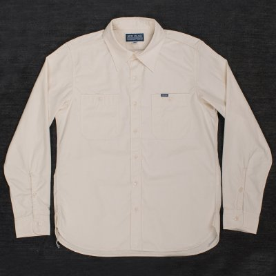 "Off-White 6.5oz Selvedge ""Sailor Cloth"" Work Shirt"