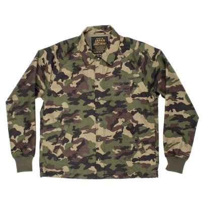 Cordura Camouflage Fleece Lined Windbreaker