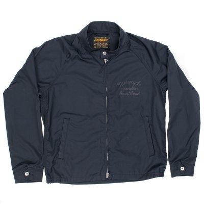 Navy T/C Weather Cloth Drizzler Jacket