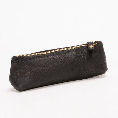 OGL Leather Zipper Pencil Case