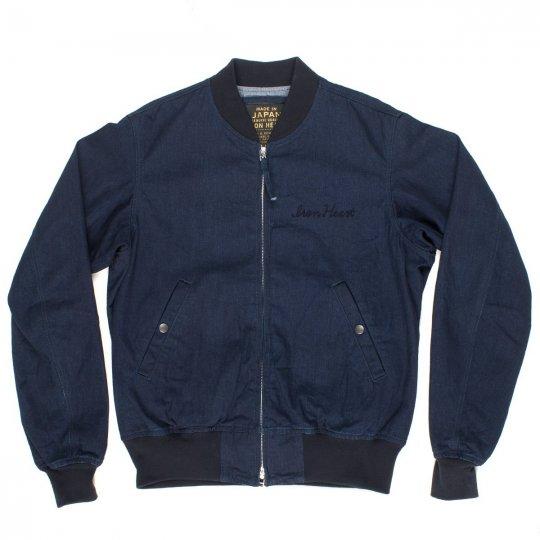 Indigo/Indigo 10oz Denim L-2B Type Jacket