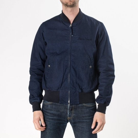 Indigo/Indigo 10oz Denim L-2B Type Jacket