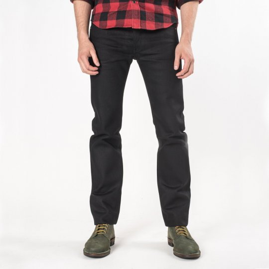 Superblack Fades To Grey 21oz Denim Super Slim Tapered