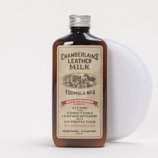 Chamberlain's Leather Milk No. 4 - Premium Auto Leather Conditioner