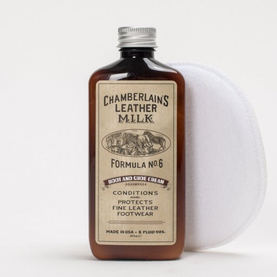 Chamberlain's Leather Milk No. 6 - Premium Leather Boot and Shoe Conditioner