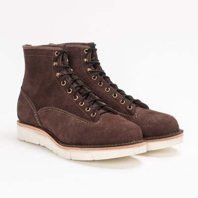 "The Bootery/Wesco® - 7"" Brown Roughout Jobmaster"