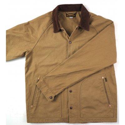 Serge Cotton Windbreaker - Sulphur Dyed Black & Khaki
