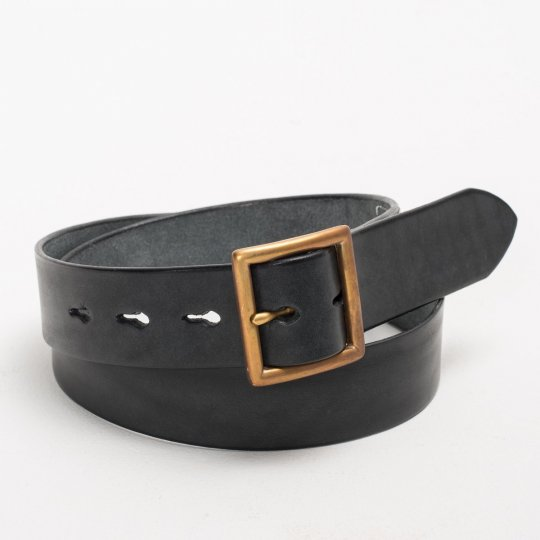 SFK Black Leather Belt