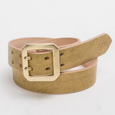 OGL Double Prong Belt - Citrine