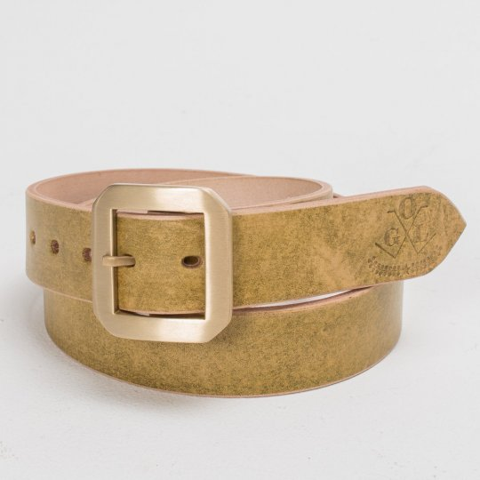 OGL Single Prong Belt - Citrine