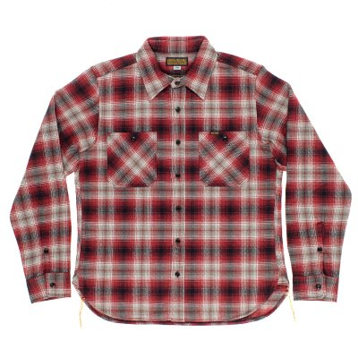Ultra Heavy Flannel Classic Check Work Shirt