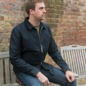 Navy Whipcord Work Jacket