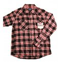 Mini Herringbone Check Western Shirt