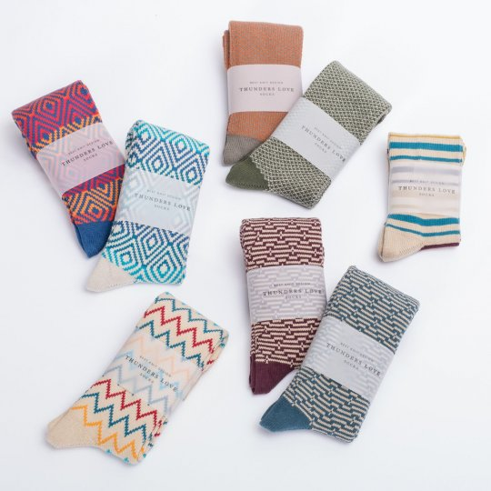 Thunders Love Socks - Bohemian Style