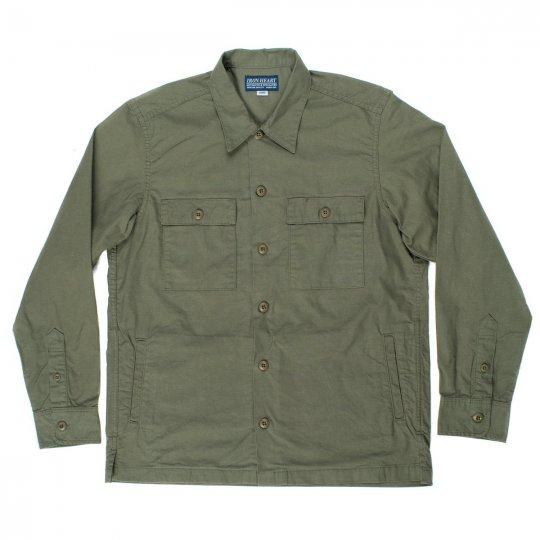 Olive Military C.P.O Shirt