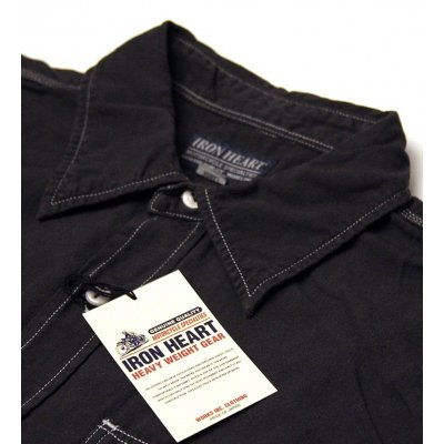 Short Sleeved Light Weight o/d Selvage Chambray Work Shirt