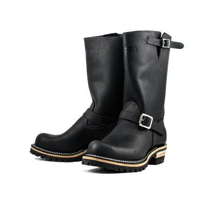 "Iron Heart/Wesco® - 11"" Black Engineer Boot"