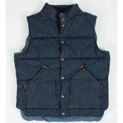 Denim/Chambray Quilted Vest