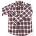 Mini Herringbone Fall Weight Flannel Western Shirt - Mark II