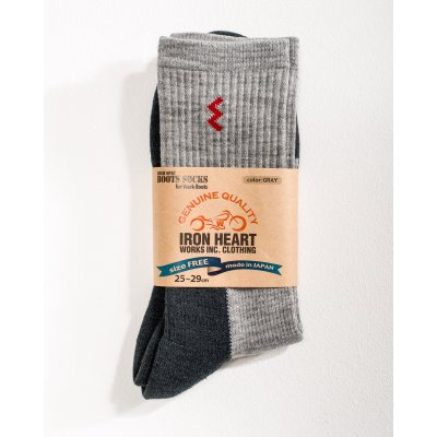 Iron Heart Work Boot Socks