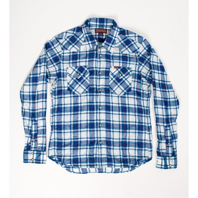 Mini-Herringbone Western Shirt