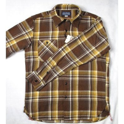 Spring Weight Flannel Work Shirt