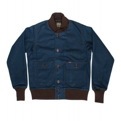 Cotton Herringbone A-1 Type Flight Jacket
